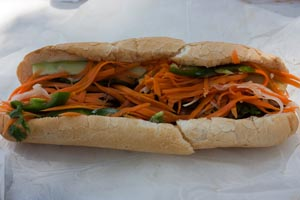 Grilled Pork Banh Mi at Lulu B