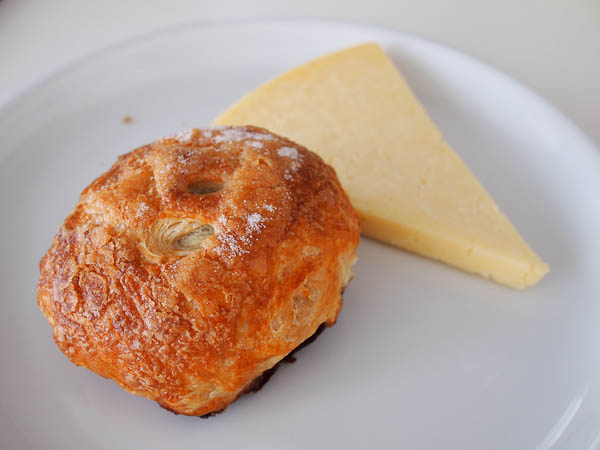 Eccles cake and Lancashire Cheese
