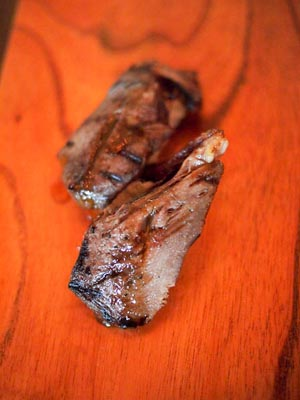gyutan - seared beef tongue