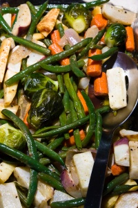marinated market vegetables